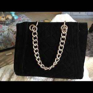 Black Velvet Mossimo Bag